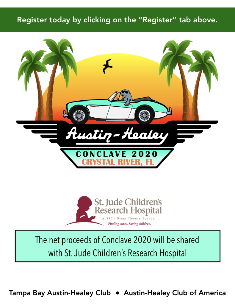 Conclave 2020. The net proceeds on Conclave 2020 will be shared with St. Junde Children's Research Hospital.