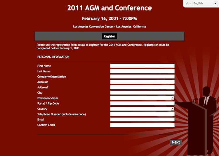 online conference registration software