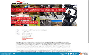 Norco 2012 Product Launch