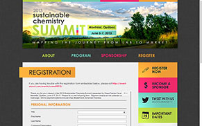 2013 Sustainable Chemistry Summit