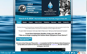 First Nations Water Symposium 2012