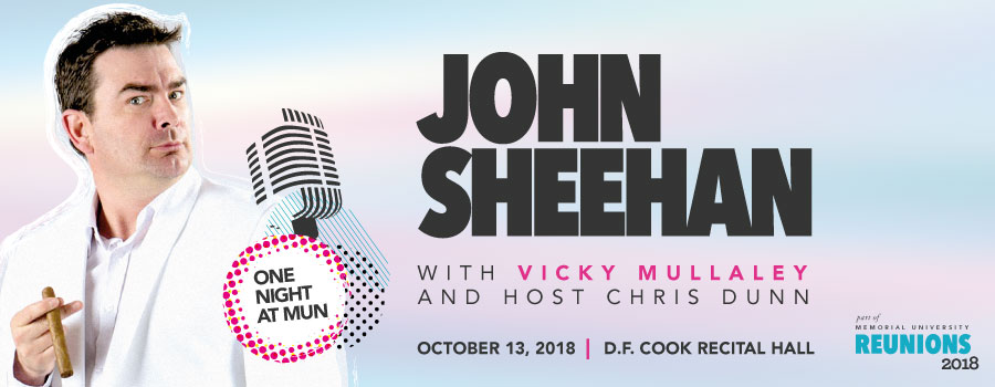 One Night at MUN with John Sheehan
