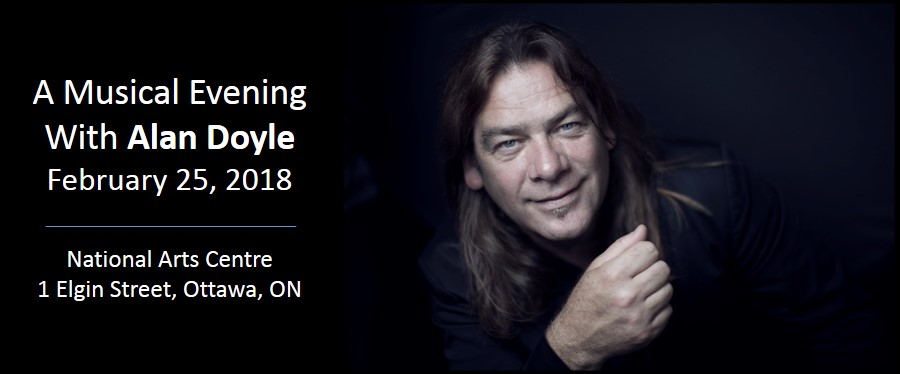 Alan Doyle - Ottawa Social Feb 25, 2018